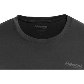 Bergans Fløyen - Camiseta manga corta Hombre - negro